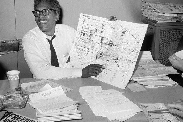 Bayard Rustin — from teenage civil rights organizer to hero of the historic 1963 March on Washington
