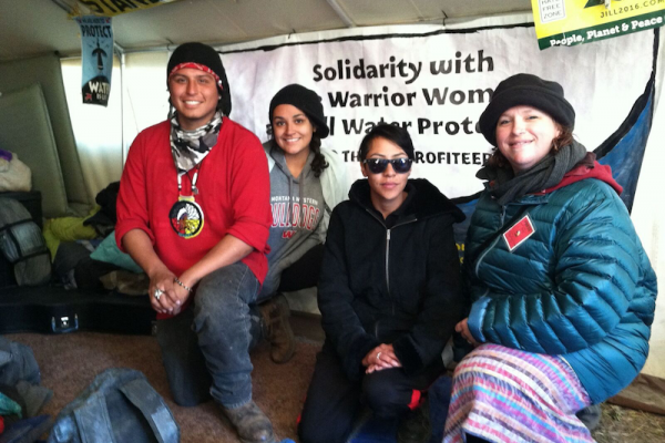 Reports from Standing Rock
