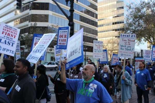 Support Striking Oakland City Workers
