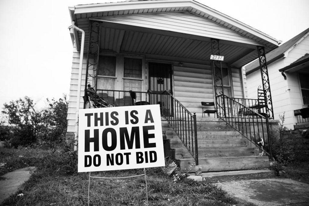 Detroit's racist annual tax auctions steal houses