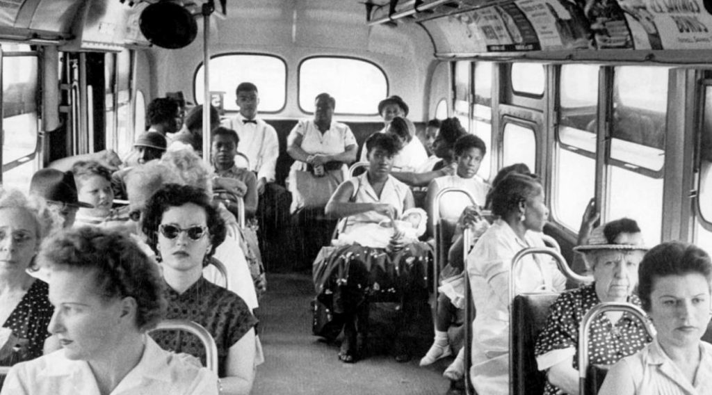 an analysis of the montgomery bus boycott In december 1955, blacks began boycotting the bus system in montgomery, alabama after forty-two-year-old rosa parks was arrested for refusing to give up her seat the action was an immediate success, with 90 percent of the african americans finding alternative sources of transportation.