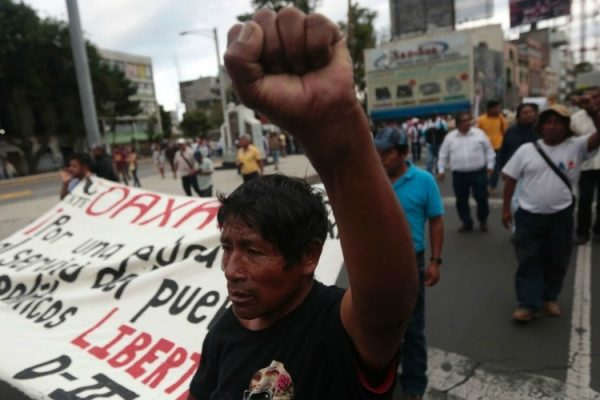 Petition opposing repression against Mexican teachers