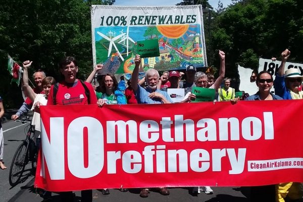 No Methanol, No Pipelines!