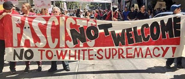 Picket Against Bigotry, White Supremacy and Fascism