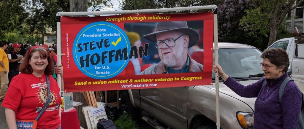 "Senate candidate Steve Hoffman: ""All working people need a path forward"""