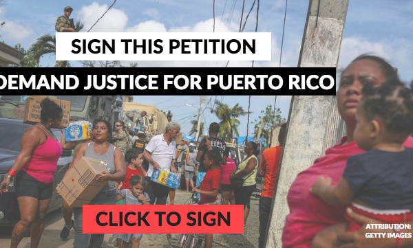 Tell Congress: Don't abandon Puerto Rico!