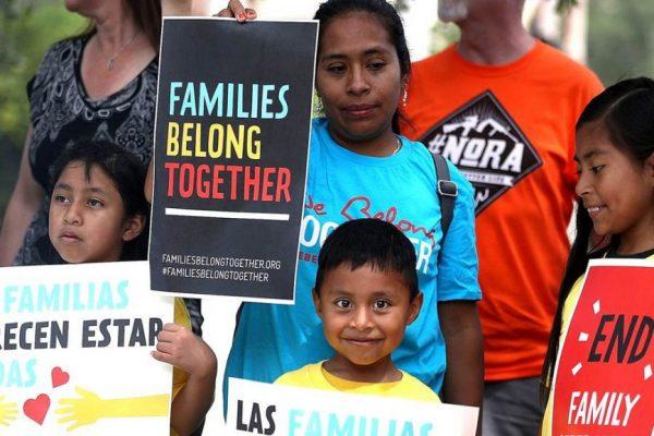 ¡Alto a la violencia de Trump contra los refugiados y sus hijos! ¡Abramos las fronteras!