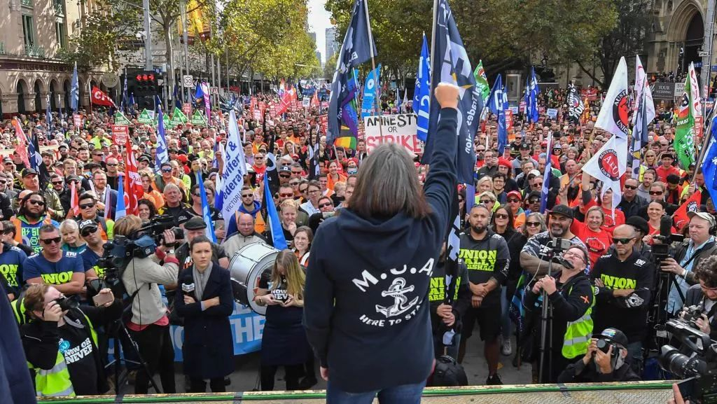 All out on 23 October: Unite and fight for the right to strike!