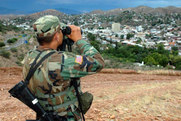 No troops at the U.S.-Mexico border!
