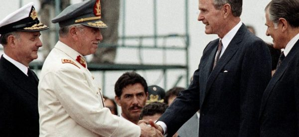 George H.W. Bush Empowered Atrocity Abroad and Fascists at Home