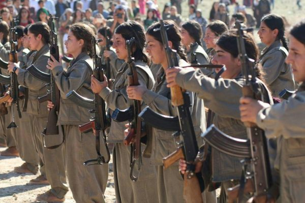 Kurdish guerillas