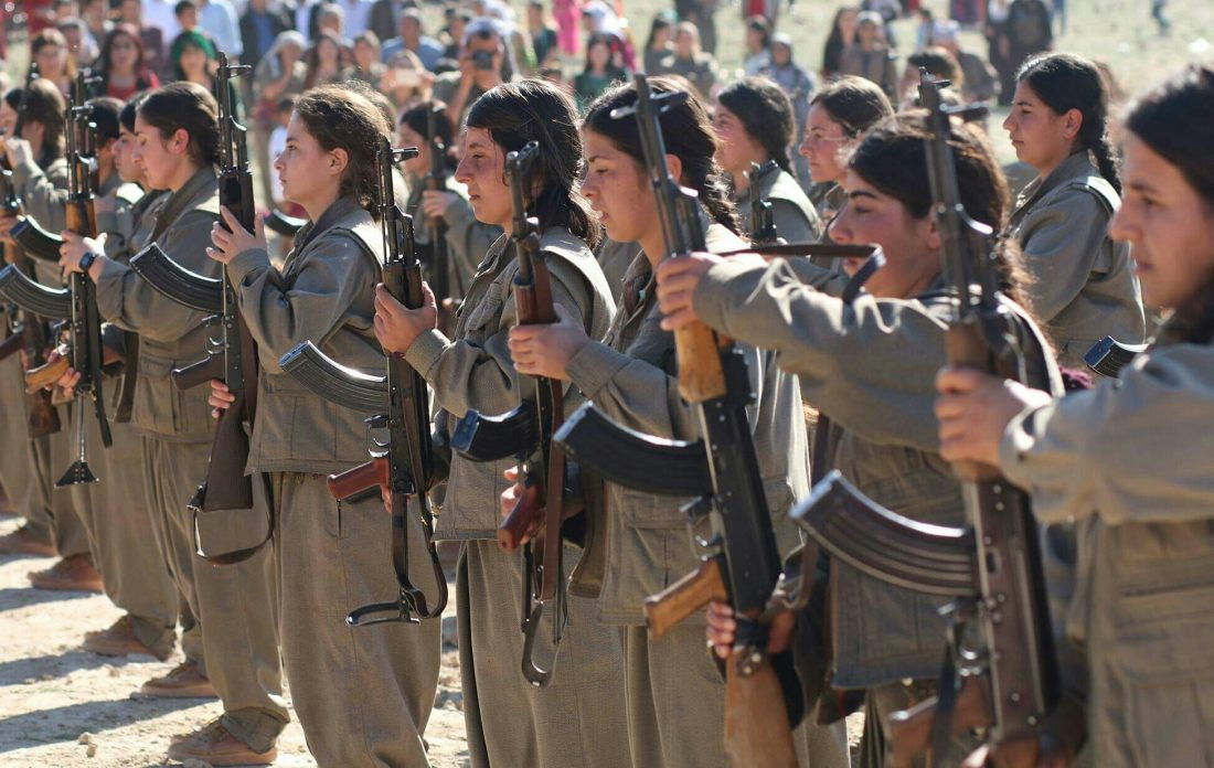 Kurdish guerillas