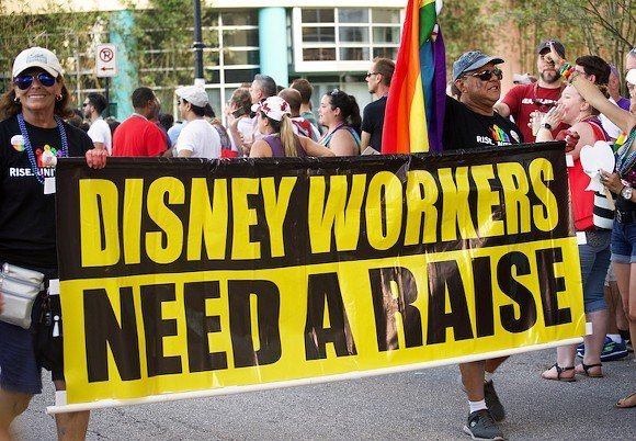 Tell Disney CEO Bob Iger: Don't discriminate against your union employees!