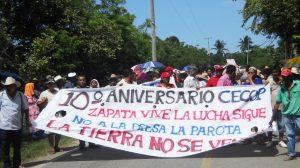 ¡Alto a la represión y militarización en México!