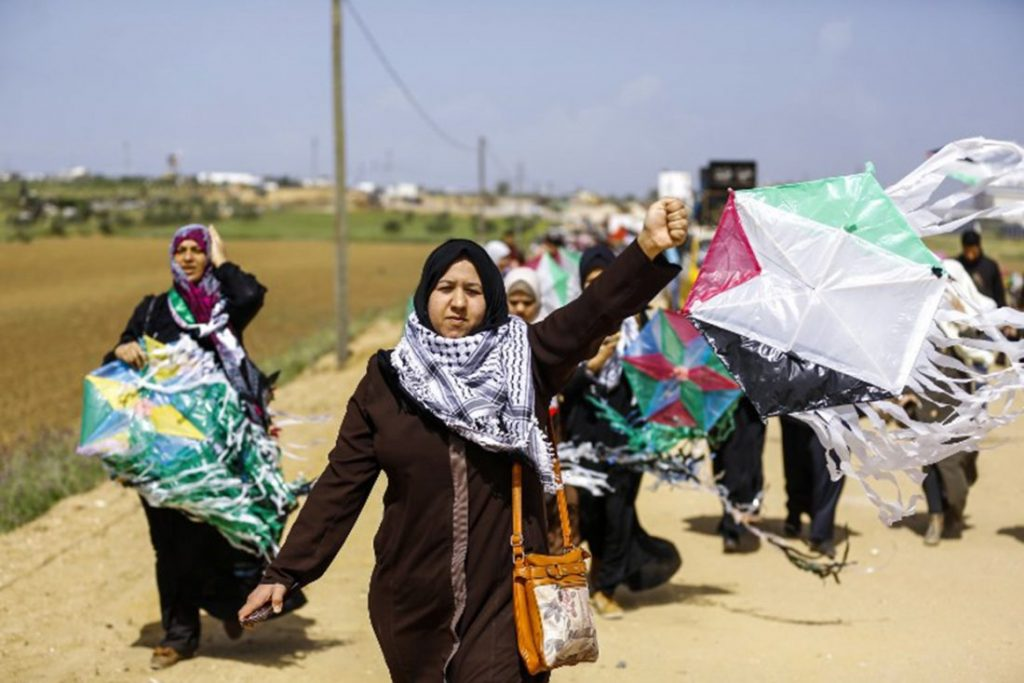 Grass-roots Palestinians take the lead