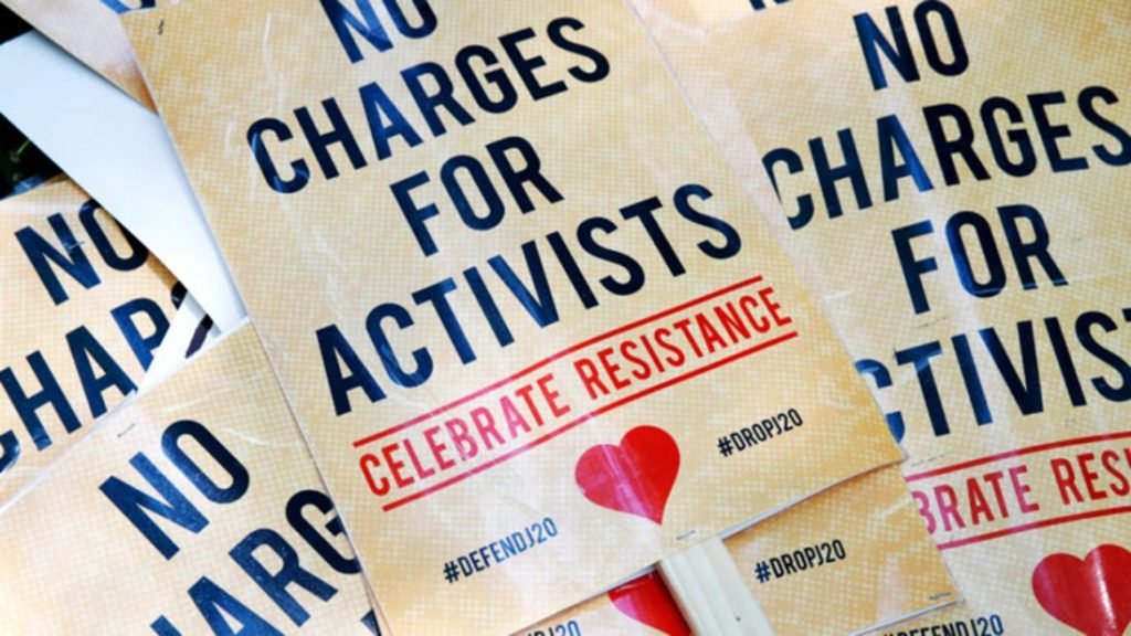 All charges against J20 defendants dropped