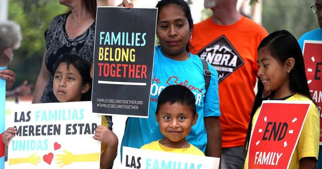 Stop Trump's violence against refugees and their children! Open the borders!