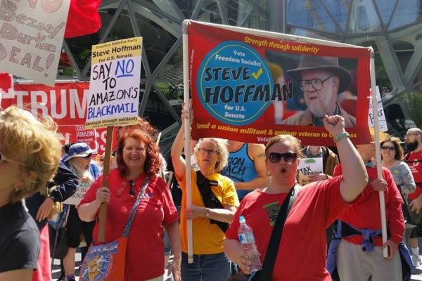 Don't let the corporate media win – vote for Steve Hoffman