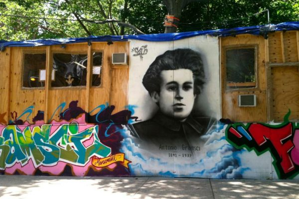 Invoking Gramsci to retreat from revolution