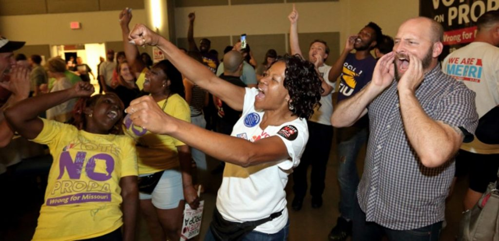 Right-to-work law trounced in Missouri — again!