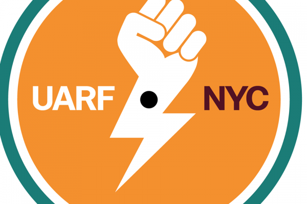 United Against Racism and Fascism-NYC in solidarity with far-right targets in Portland