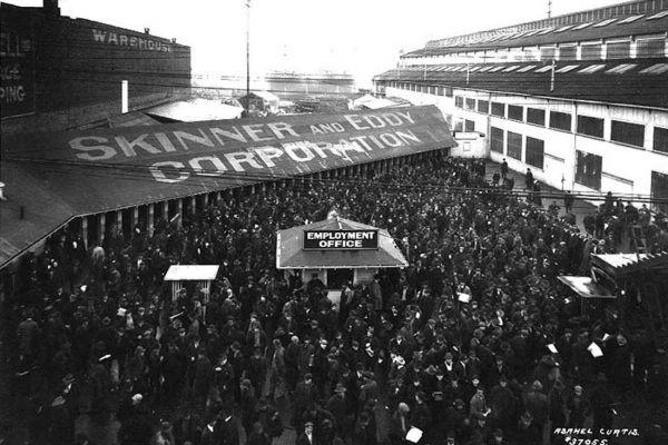 "Seattle General Strike, 1919: ""Nothing moved but the tide"""