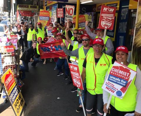 Strike victory for discount pharmacy workers in Australia