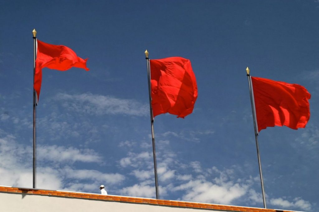 Three red flags