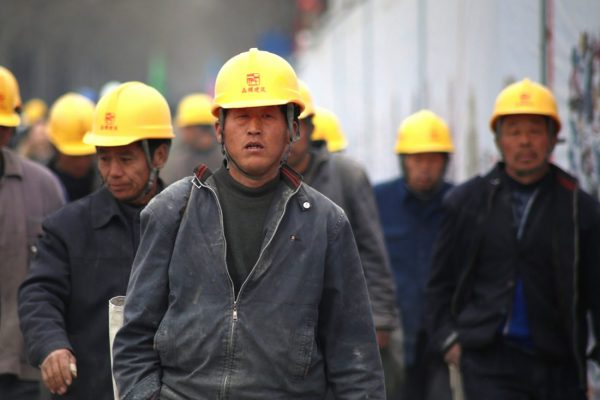 Chinese workers fearless