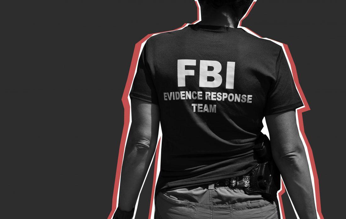 An FBI agent