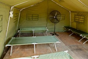 Sleeping quarters on Manus Island