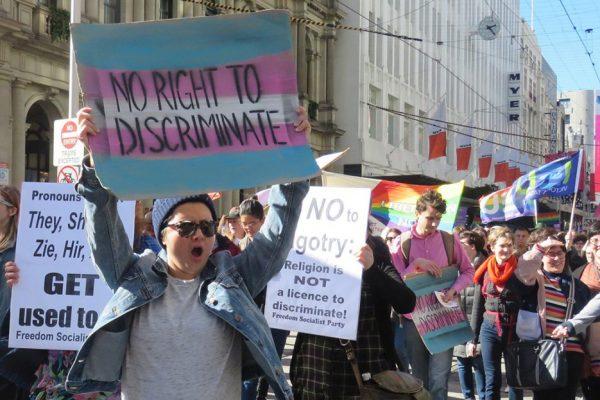 Australia far-right Christians claim god-given right to discriminate