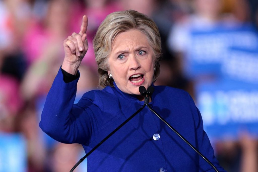 """Hillary Clinton conjures up a new """"red"""" threat"""