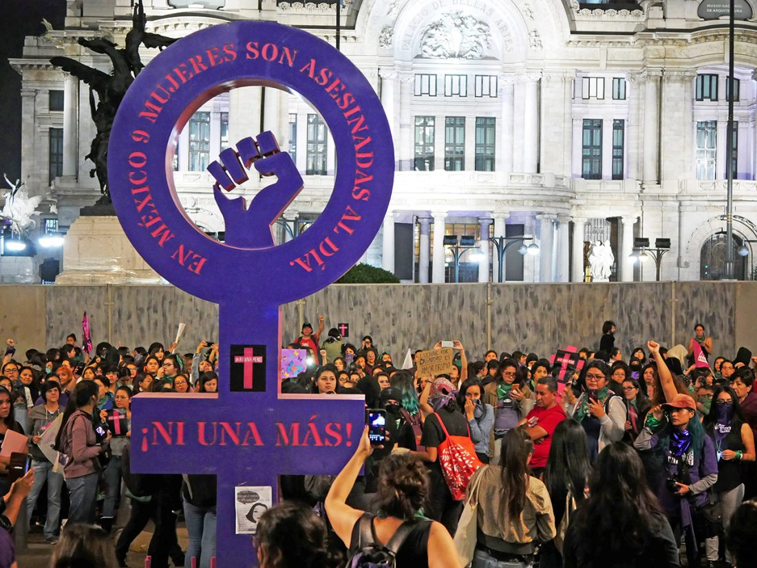 Mexican women strike over femicides