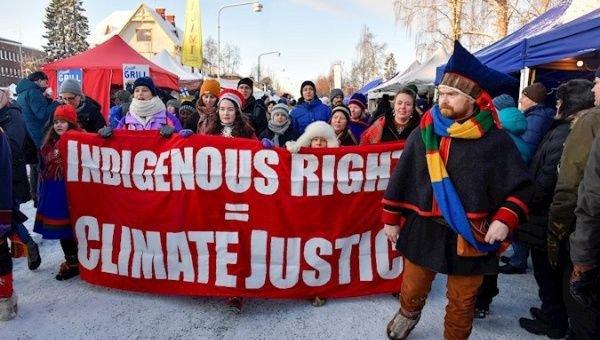 Arctic Sami people assert territorial control