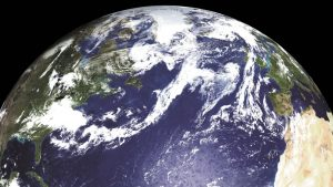 The planet Earth from space.
