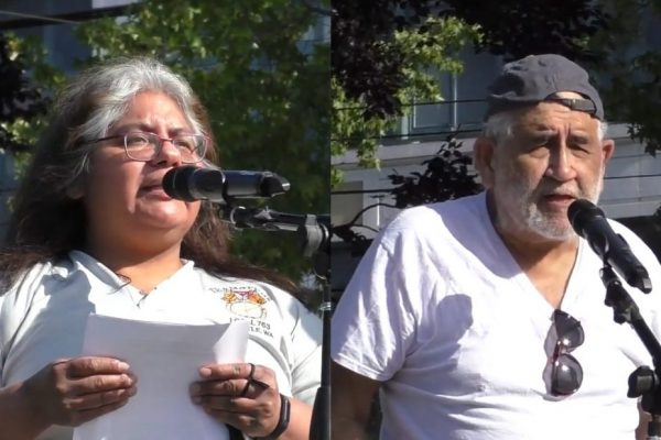 Speakers Christina López and Gil Veyna: Cops out of the labor movement [VIDEO]