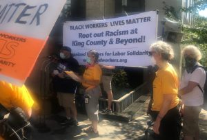 'Strike for Black Lives' Action Wins Victory for Seattle Transit Workers