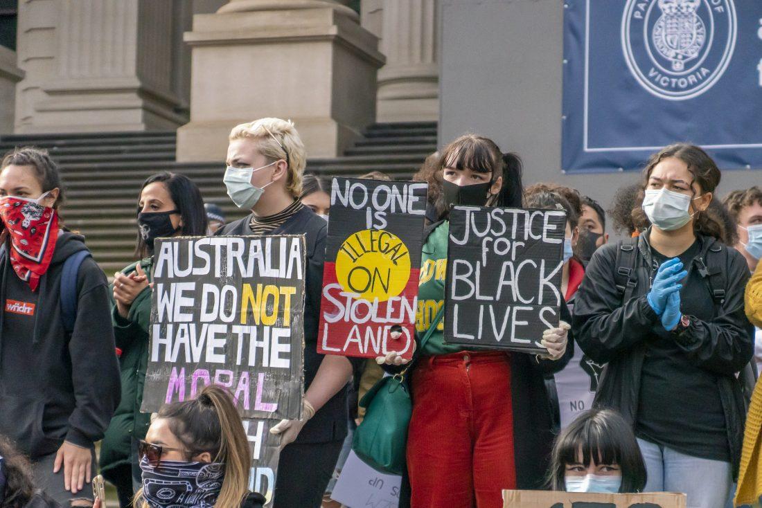 Black Lives Matter - Melbourne (Australia) Rally
