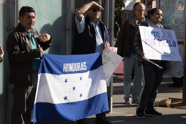 ¡Los trabajadores hondureños están luchando por independencia, libertad, empleo y derechos sociales!