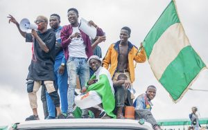 Nigerian fury at naked police violence