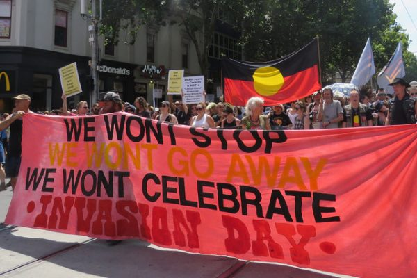 Celebrate resistance, reject nationalism and stand with First Nations
