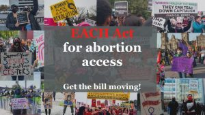 Support the EACH Act – Call and email today to expand abortion access!