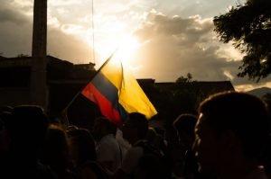 ¡Todo el apoyo a la lucha del pueblo colombiano!
