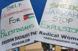 Stand with the Palestinian people: End the Israeli bombing of Gaza!