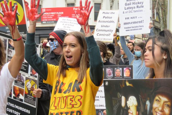 End the genocidal inaction!Implement the recommendations of the Royal Commission into Aboriginal Deaths in Custody