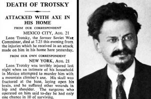 Calling to account tweets by DSAers mocking Trotsky's assassination