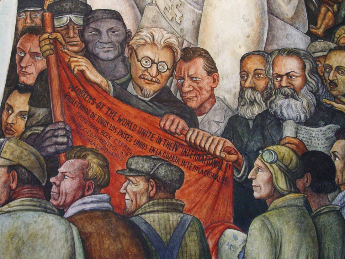 DSAers mock Trotsky's murder