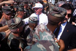 Uncle Sam — hands off Haiti!