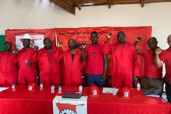 International Day of Solidarity with Miners in Namibia